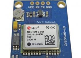 GPS با SIM900 و ماژول U-blox NEO-6M