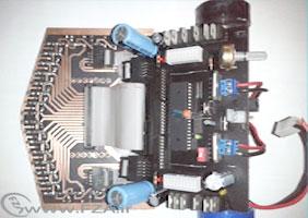 ورژن 3 روبات 24 سنسوره با AVR