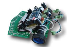 روبات 24 سنسوره به همراه برنامه C ورژن 3