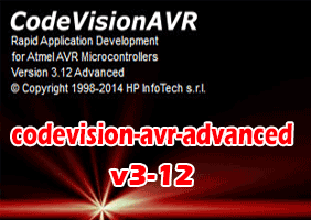دانلود CodeVision AVR Advanced نسخه ۳٫۱۲